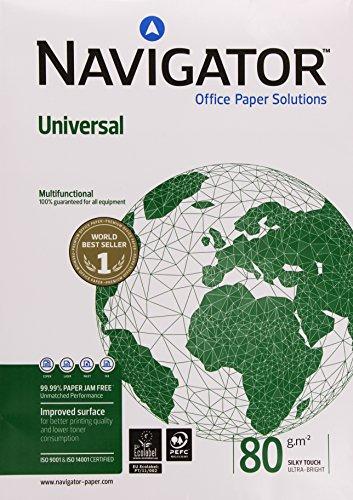 Igepa 8247B80B Kopierpapier Navigator Universal Din A3 Brief und Geschäftspapier