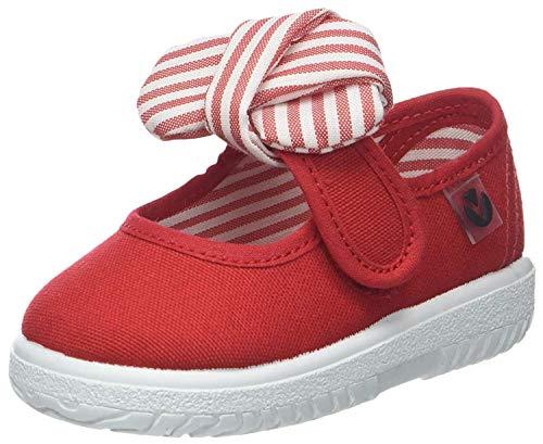 victoria Mercedes Lona Pañuelo, Sneaker Unisex - Bambini, Rosso (Rojo), 21 EU