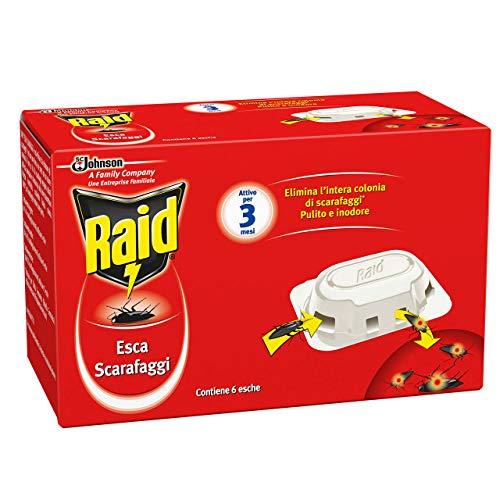 Raid Esca Scarafaggi - 1 Confezione da 6 pezzi