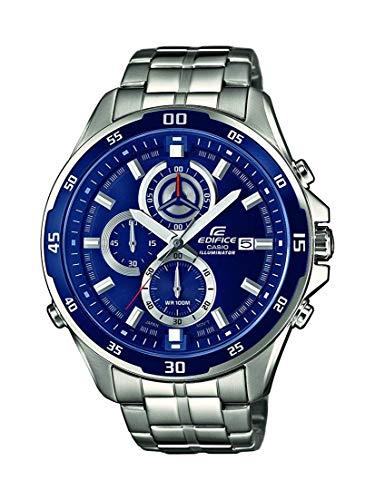 Casio Orologio Cronografo Quarzo Uomo con Cinturino in Acciaio Inox EFR-547D-2AVUEF