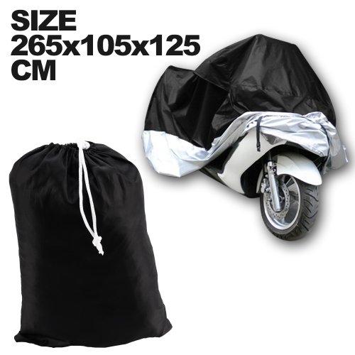 Funda Protector de Polyester Talla XXL Cubierta para Moto 265 cm