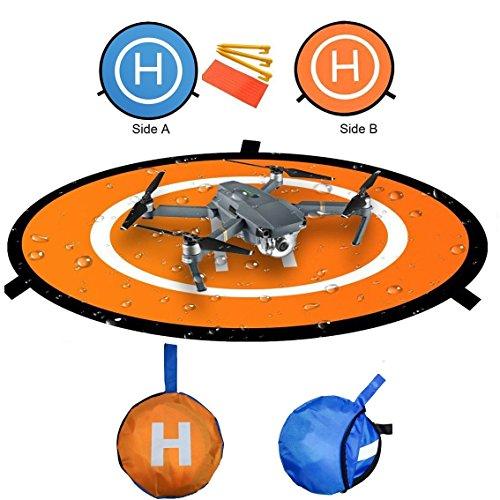 RC Drone Elicottero Landing Pad impermeabile 110cm pieghevole atterraggio per DJI Phantom / Spark /...