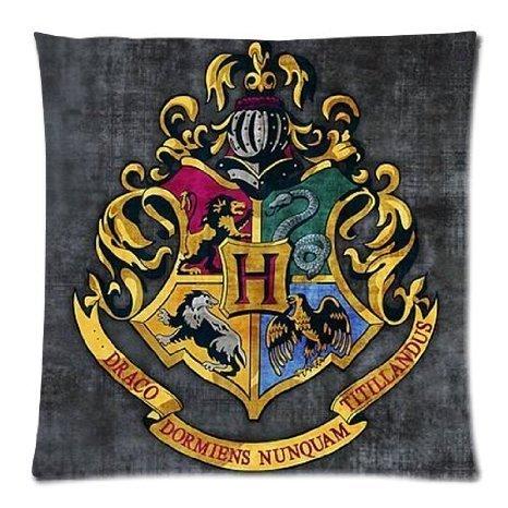 yuehu Harry Potter Hogwarts School Sign Gryffindor Ravenclaw Hufflepuff Slytherin Custom Pillowcase...