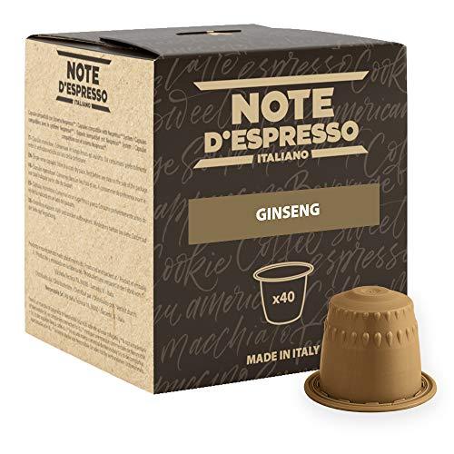 Note D'Espresso Preparato Solubile per Bevanda al Gusto di Ginseng - 172 g (40 x 4.3 g)