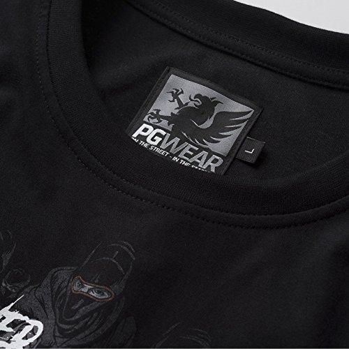 PG-Wear-T-Shirt-Never-Fight-Alone-schwarz-S-XXXL