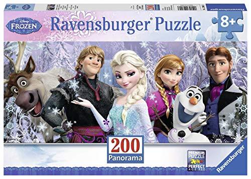 Ravensburger Italy Puzzle Panorama Frozen, 200 Pezzi, 12801