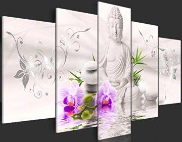 Cuadros B&D XXL murando - b-A-0020-b-n b-A-0020-b-o b-A-0020-b-p Buda Flores 5
