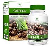 Comprimés de Caféine - Haute Concentration - 200mg - Comprimés de Caféine Puissants - Convient aux Végétariens - 90 Comprimés (3 Mois d'Approvisionnement) de Earths Design