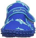 Playshoes Aquaschuhe, Badeschuhe Hai mit höchstem UV-Schutz nach Standard 801 174773, Jungen Dusch- & Badeschuhe, Blau (original 900), EU 20/21 - 4