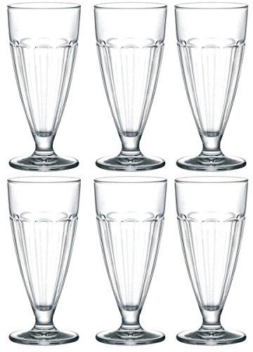 Bicchieri da bar, adatti anche per il gelato, in confezione da 6