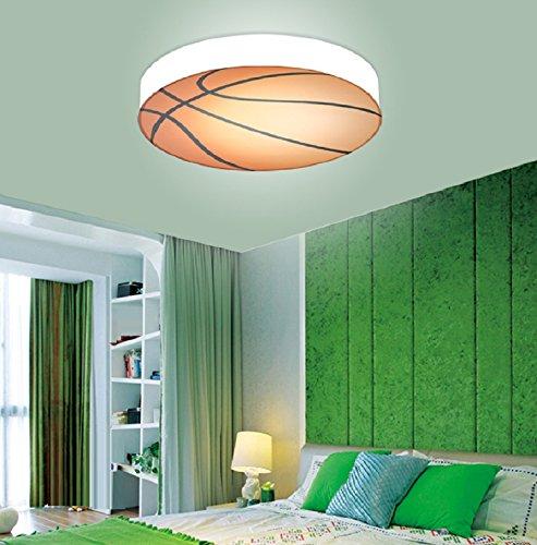 Waineg Stanza dei bambini Luce di soffitto di pallacanestro Camera da letto creativa Soggiorno...