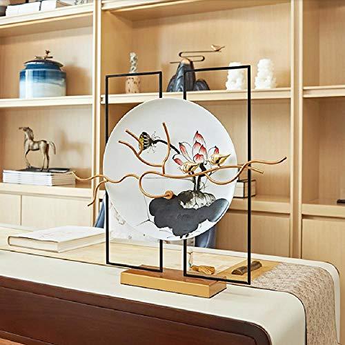 ZZFGH Statue Zen Soggiorno Portico Mobile TV Decorazioni Morbide Casa Artigianato Ornamenti Arredi...