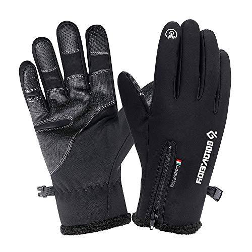 COSYINSOFA Guanti Moto Impermeabili Touchscreen Guanti da Escursionismo da Campeggio per Ciclismo,...