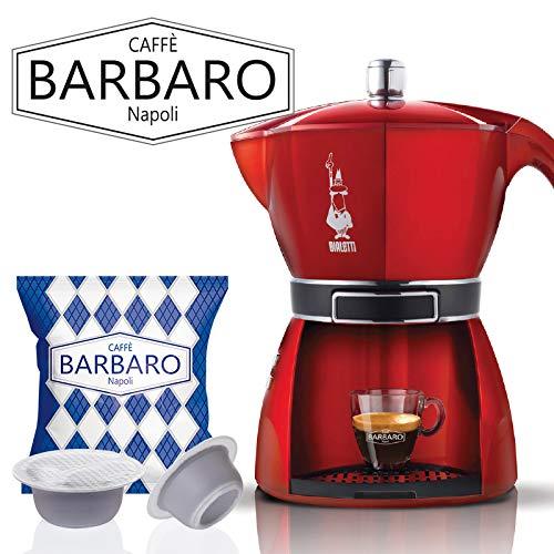 Barbaro 100 Capsule, Cremoso Napoli, Compatibili Bialetti - 630 gr