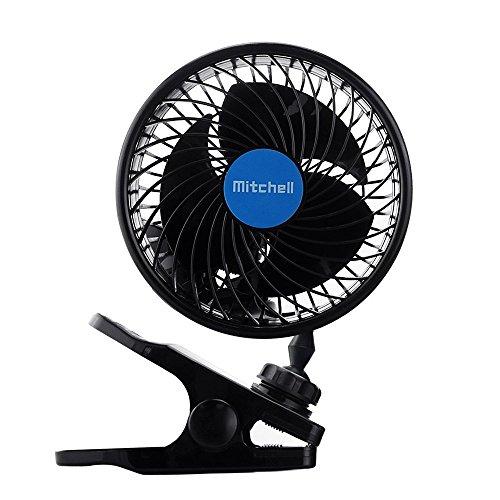 12V con Clip della ventola di raffreddamento del veicolo Auto Potente Ventilatore Calma Fans per...