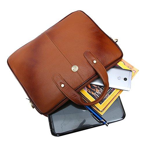 Hammonds Flycatcher Genuine Leather 13 inch Messenger Bag 6