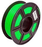 Sunlu-Filamento PLA, 1,75mm, bobina de 1kg, precisión dimensional de +/-0,02mm, fabricado en EE.UU. con materiales de alta calidad, verde, 1