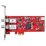 TBS 6902 DVB-S2 Doppel-Tuner,PCIe Satelliten-HDTV Empfangskarte
