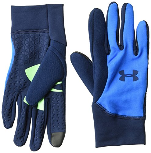 Under Armour, Youth Armour Liner 2.0, Guanto, Uomo, Blu (Blue Circuit/Academy), L