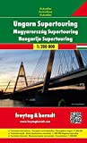 Ungarn Supertouring, Autoatlas 1:200.000, Freytag Berndt Autoatlanten