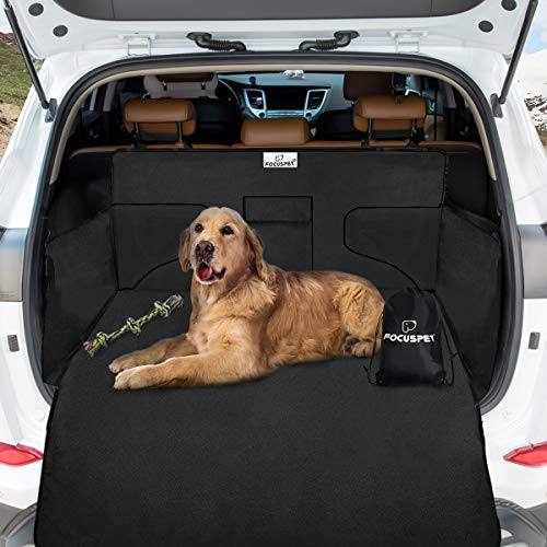 Focuspet Kofferraumschutz, 185 * 105 * 36CM Autoschondecke Hundedecke Kofferraumdecke für Hunde Kofferraumschutzdecke Auto Schondecke Mit Eine Aufbewahrungstasche