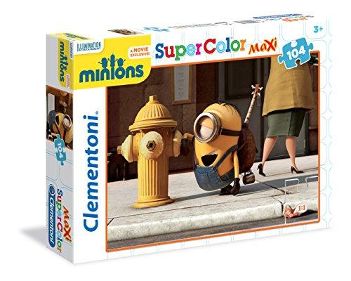 Clementoni 23685 - Minions Maxi Puzzle, 104 Pezzi
