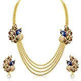 Sukkhi Jewellery Multi Strand Necklace for Women (Gold)(2191NGLDPP1560)