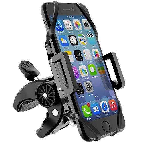 Beikell Supporto Bici Smartphone, Regolabile Porta Cellulare Bici con Manubrio Bici MTB Moto e...