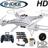s-idee 01251 Quadrocopter S183C HD KAMERA 4.5 Kanal 2.4 Ghz Drohne mit Gyroscope Technik