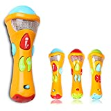 Itian Juguetes de Niños --- Micrófono de Grabación, Transform Acoustic, Canciones e Iluminación