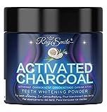 Ray of Smile-CHARBON ACTIF 60g Natural pour Blanchiment des Dents Sans Produits Chimiques & Additifs Synthétiques