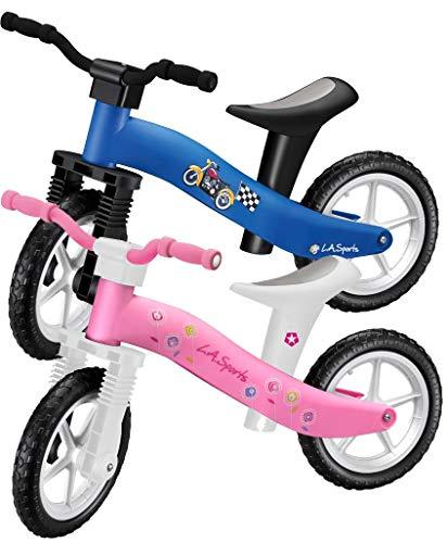 Lightweight Girls Pink First Childrens / Toddler / Kids Balance Bike No Pedals Suitable Ages 2, 3 & 4