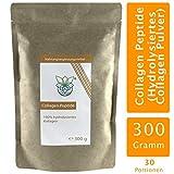 VITARAGNA Collagen Peptide Protein Pulver, 100% reines Kollagen Hydrolysat, Lift Drink, 300 g hydrolysiertes Kollagen ohne Zusätze