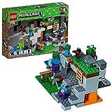LEGO- Minecraft La Caverna dello Zombie, Multicolore, 21141
