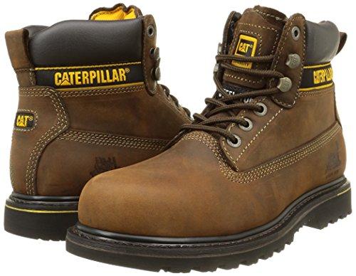 Caterpillar - Holton Sb - Bottes de Sécurité - homme Marron (Chocolate) 46 EU 28