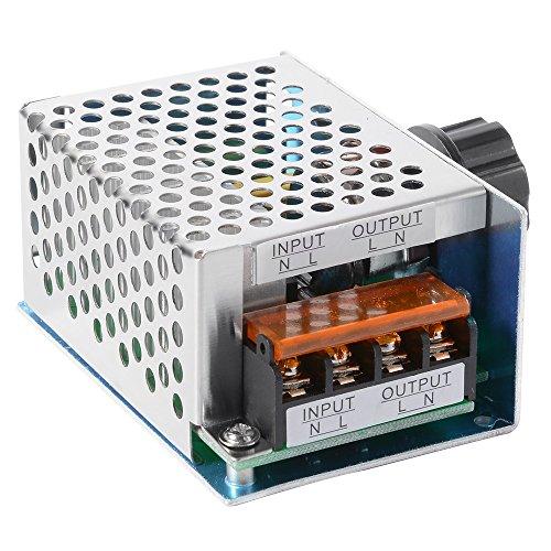 4000W AC 220V ad alta potenza SCR elettronico di tensione governatore dimmer regolatore di velocità...