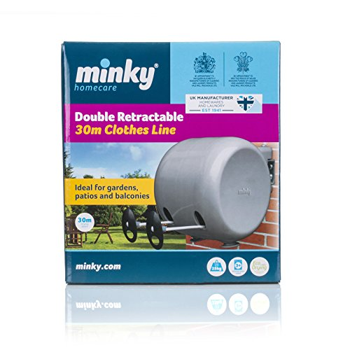 Overall, this Minky retractable washing line comes at a fantastic price that you can't argue with, yet offers adequate capacity for drying clothes. You might want to check out a few of the near 3,000 reviews on Amazon but it's an easy choice for anyone to make.