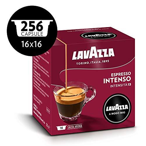 Lavazza A Modo Mio Capsule Caffè Espresso Intenso, Confezione da 256 Capsule