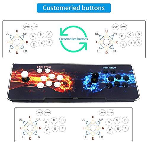 SeeKool Pandora 11 Console de Jeux vidéo Arcade, 2255 en 1 Console de Jeux vidéo HD Retro, Commandes de Jeu à 2 Joueurs Double Stick Arcade ... 28
