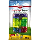 Kaytee CritterTrail Fun-nel Connectable Colourful Plastic Tubing 10 pieces