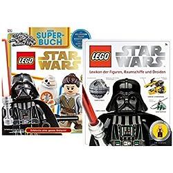 Lego Star Wars: Lexikon der Figuren, Raumschiffe und Droiden + Superbuch - Entdecke eine ganze Galaxis
