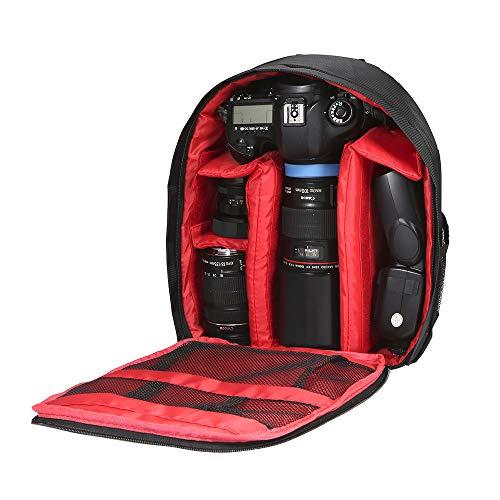 Docooler Zaino Fotografico Piccola Borsa Fotografica Antiurto Impermeabile 33x26x12cm per Canon Nikon Sony DSLR Flash Dell'obiettivo Della Fotocamera