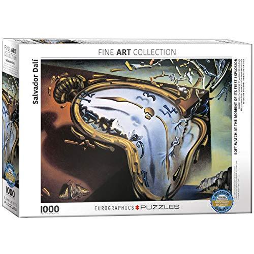 Eurographics, Puzzle di Salvador Dalí Orologio Molle al Tempo della Prima Esplosione (Titolo in...