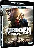 El Origen Del Planeta De Los Simios Blu-Ray Uhd [Blu-ray]