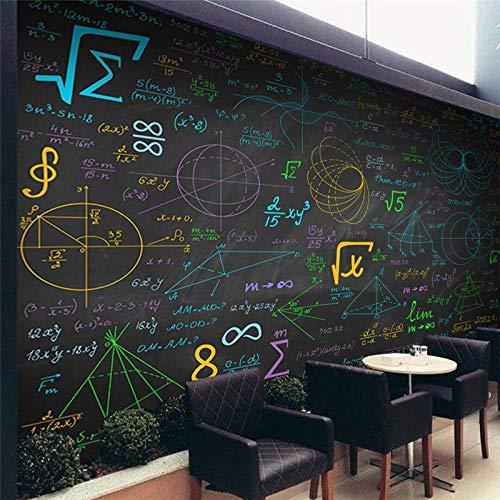 Grandi stili personalizzati Sfondi matematici Colorati stili Lavagna Murale Sfondo Decorazioni da...