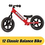 Strider Balance Bike 12 Classic, 18 Months To 3 Years, red