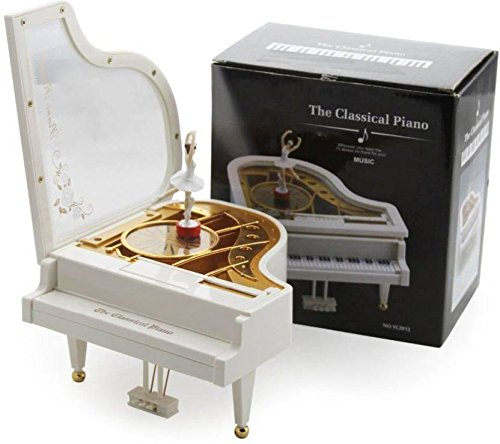 Curtis Toys The Classical Piano Wind-up Musical Toy