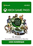 Abonnement Xbox Game Pass | 6 Mois | Xbox Live Download Code