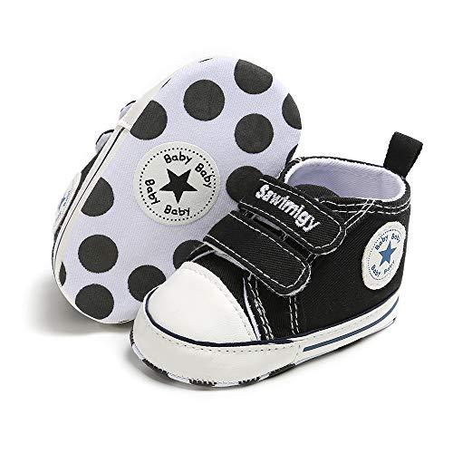 Babycute Unisex Scarpine Battesimo neonata,con Suole morbide, Stile Casual Sportivo,Sneaker