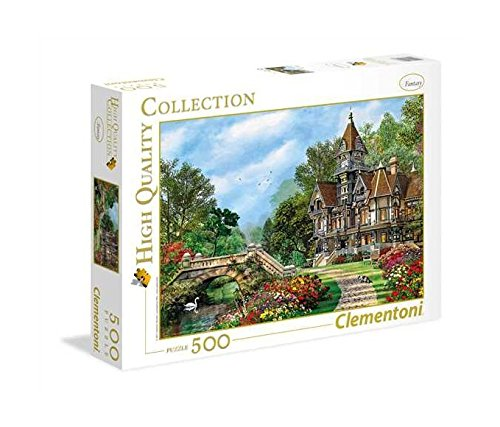 Clementoni - 35048 Collection Puzzle - Old Waterway Cottage - 500 Pezzi
